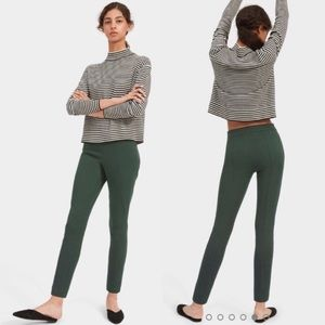 everlane the work pants green